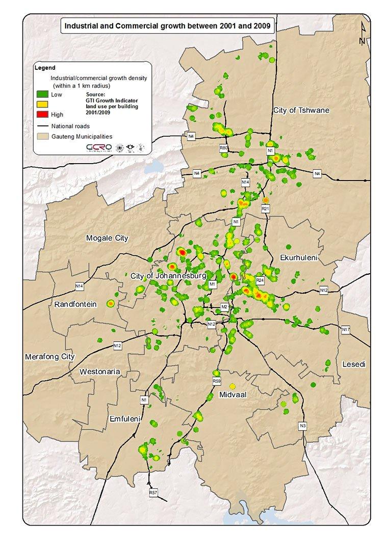 gcro_gauteng_gti_industrial_and_commercial_2009-2001point_density_heat_map_1km_radiusv3