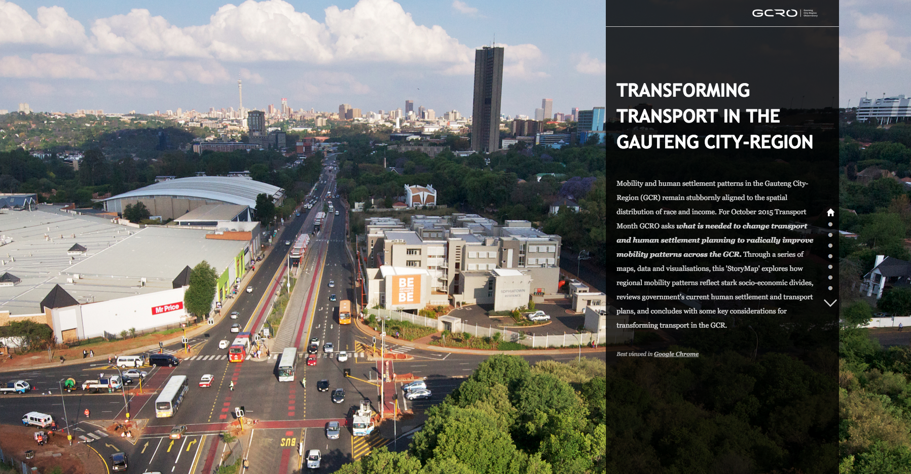 Transforming Transport in the Gauteng City-Region